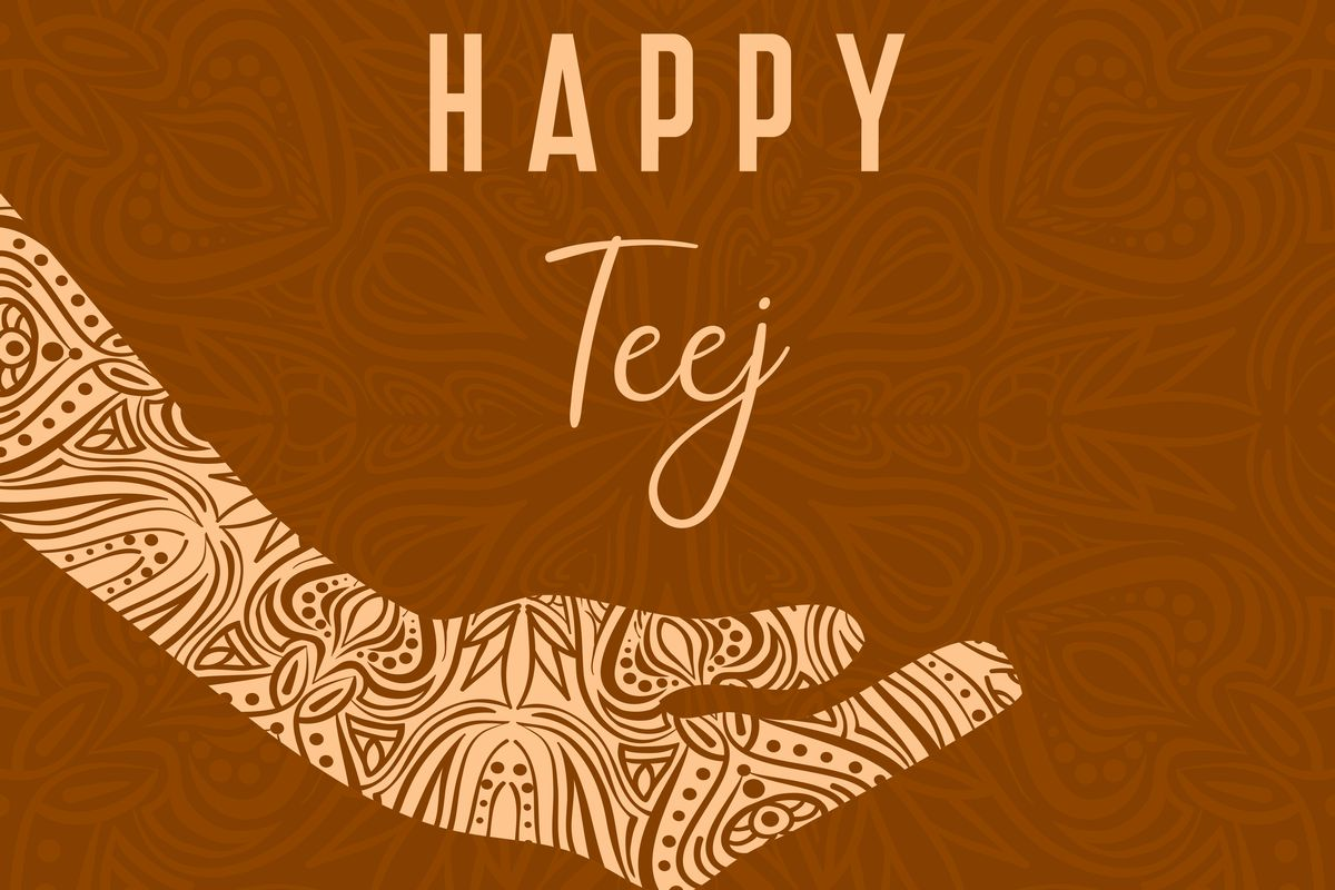 Teej 2019 – A colourful, musical and lively celebration