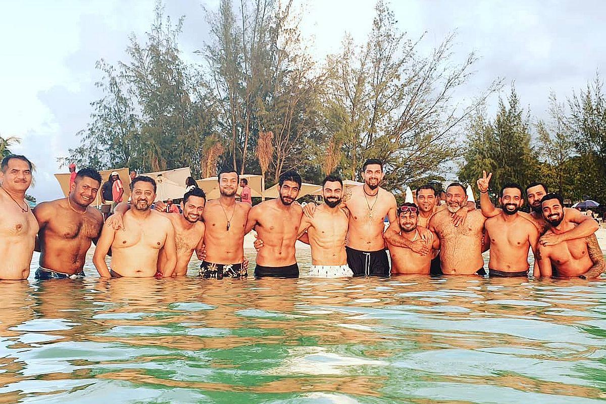 Virat Kohli and boys spend 'stunning' day before World Test Championship campaign