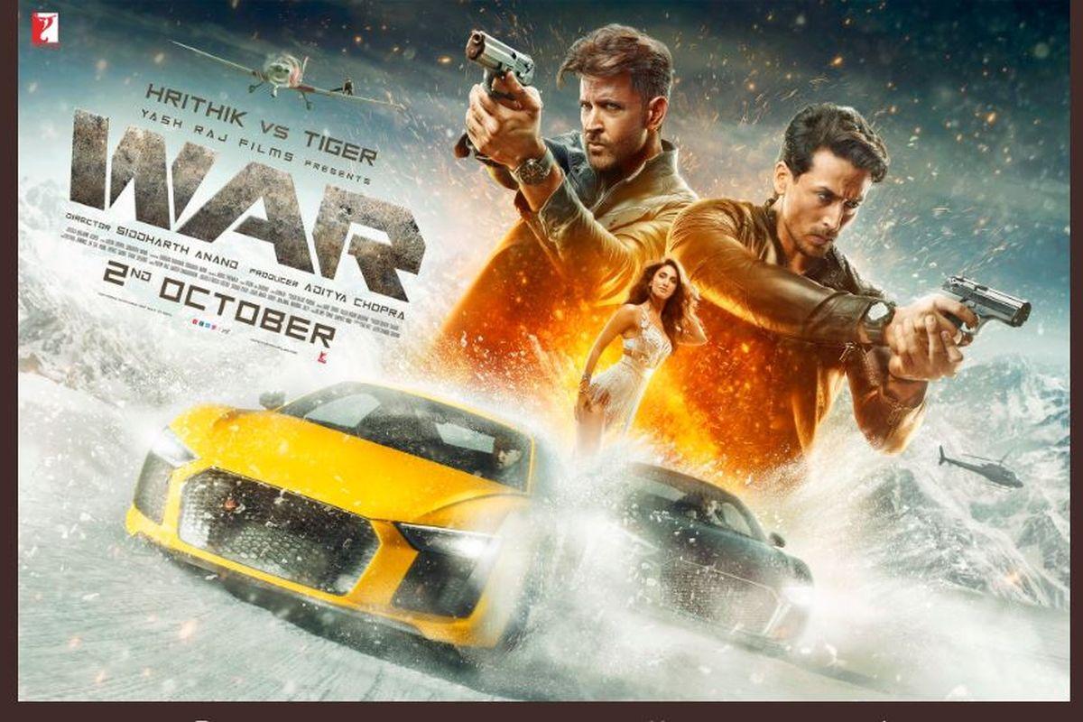 Hrithik Roshan, Tiger Shroff, War, first look, Ashutosh Rana, Anupriya Goenka, Dipannita Sharma, Vaani Kapoor, War teaser