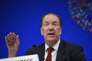 World Bank president David Malpass to visit Pakistan in first week of Nov