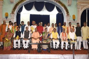 Stay away from 'business of transfers and postings': Yogi Adityanath to new ministers
