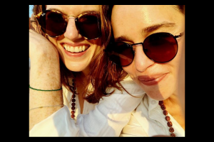 Emilia Clarke's GoT family loves her India posts on social media