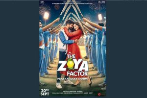 The Zoya Factor's first look poster out; trailer to release today