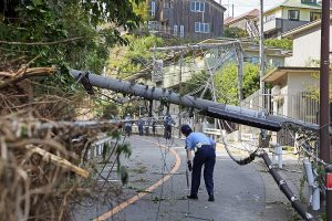 Typhoon Faxai: 80,000 houses still without power in Japan