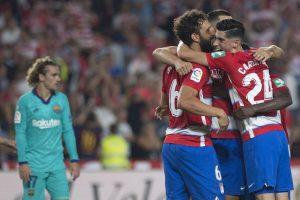 La Liga 2019-20 Update: Granada stun Barcelona to top points table