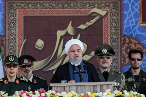 Iran President blames 'foreign forces' for insecurity in Gulf