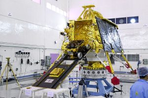 Chandrayaan-2 Vikram Lander in 'single piece', but tilted after hard landing on moon: ISRO