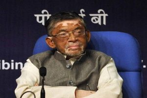 Activist files petition against Santosh Gangwar for 'insulting' north Indians