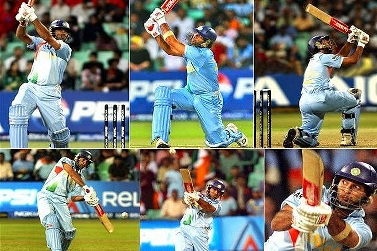 This day, that year: When Yuvraj Singh hit six sixes in an over