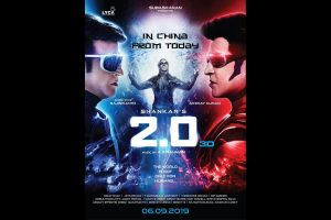 Rajinikanth, Akshay's '2.0' opens across 48000 screens in China