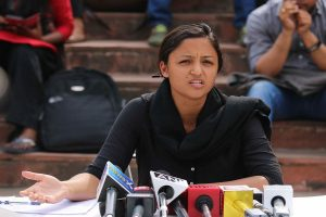 Interim protection granted to Shehla Rashid in sedition case