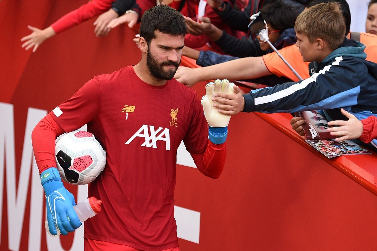 Liverpool's Alisson Becker making 'steady progress', says goalkeeping coach