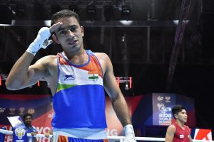 Amit Panghal becomes first Indian male boxer to bag World Championships silver