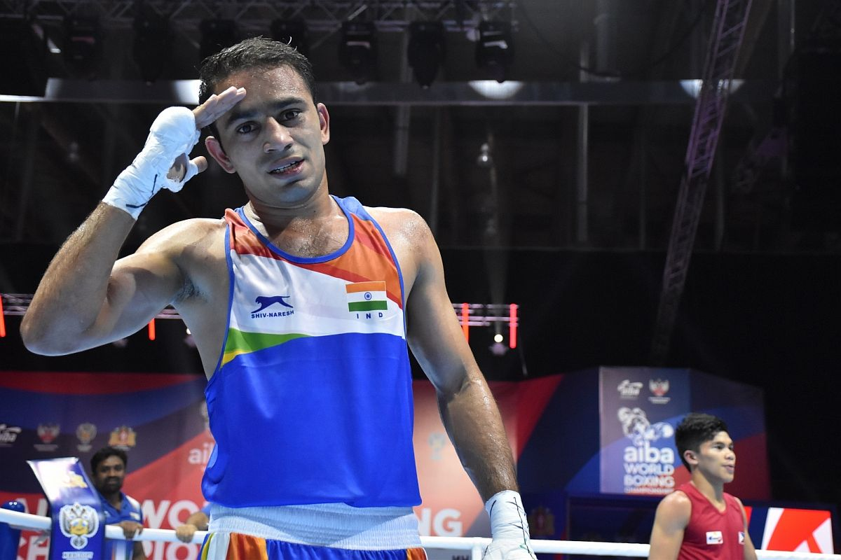 Amit Panghal wins World Silver in India's best-ever campaign