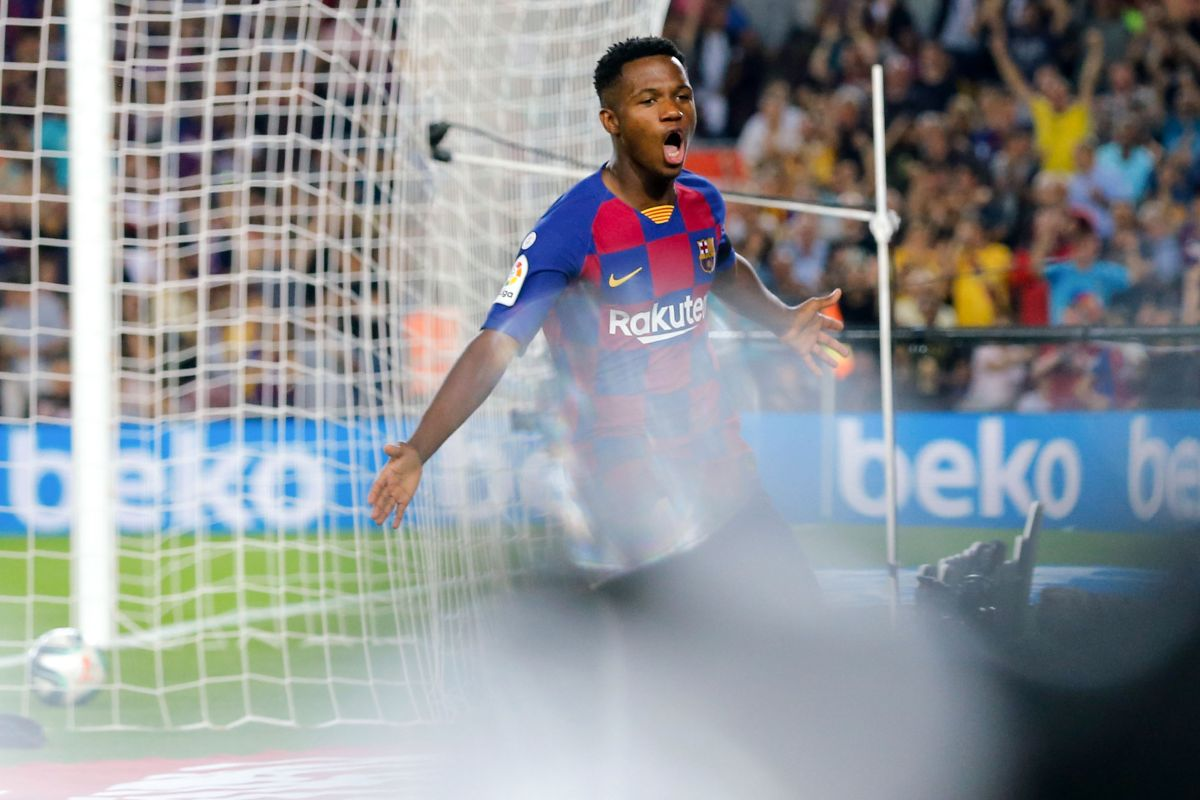 Ansu Fati, Barcelona, UEFA Champions League, FIFA U-17 World Cup, Spain
