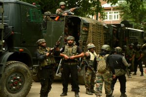 3 terrorists killed, soldier martyred in encounter in J-K's Ramban; hostage rescued