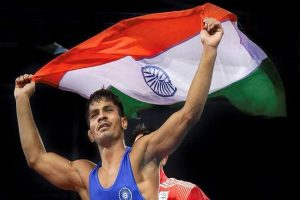 Rahul Aware wins bronze, takes India's World Wrestling Championships haul to five