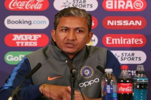 Look back at the progress team made with happiness: Sanjay Bangar