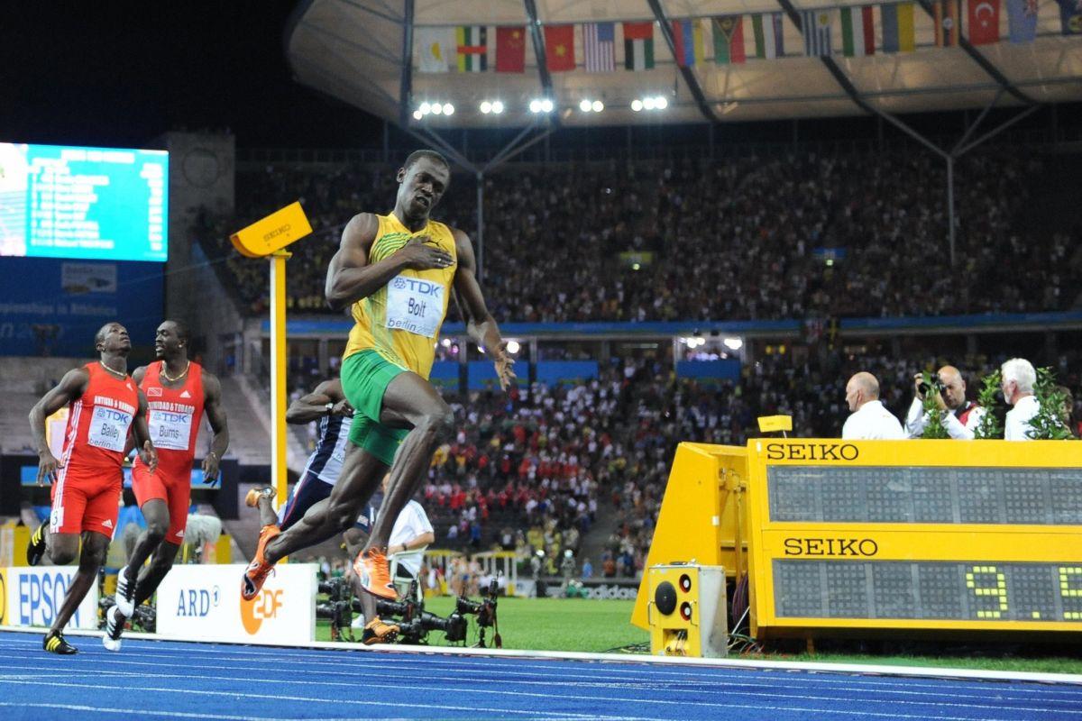 Usain Bolt, Max Kellerman, Carl Lewis, Olympics, Olympic Games, Athletics