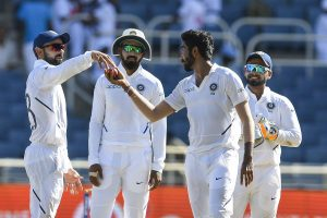 Ind vs WI 2nd Test Day 2: Jasprit Bumrah's hat-trick reduce West Indies to 87/7