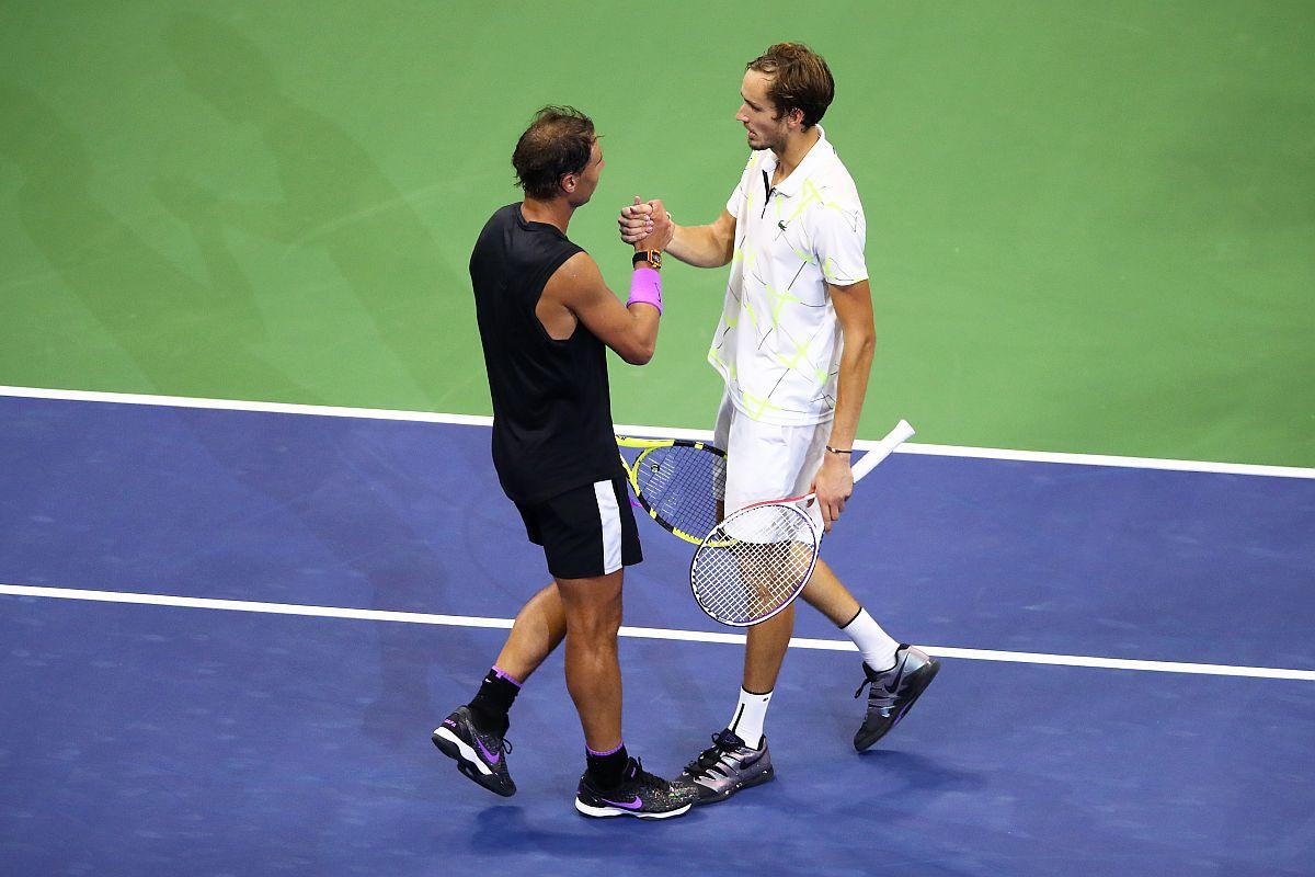 Daniil Medvedev, Rafael Nadal, US Open, Grand Slam,
