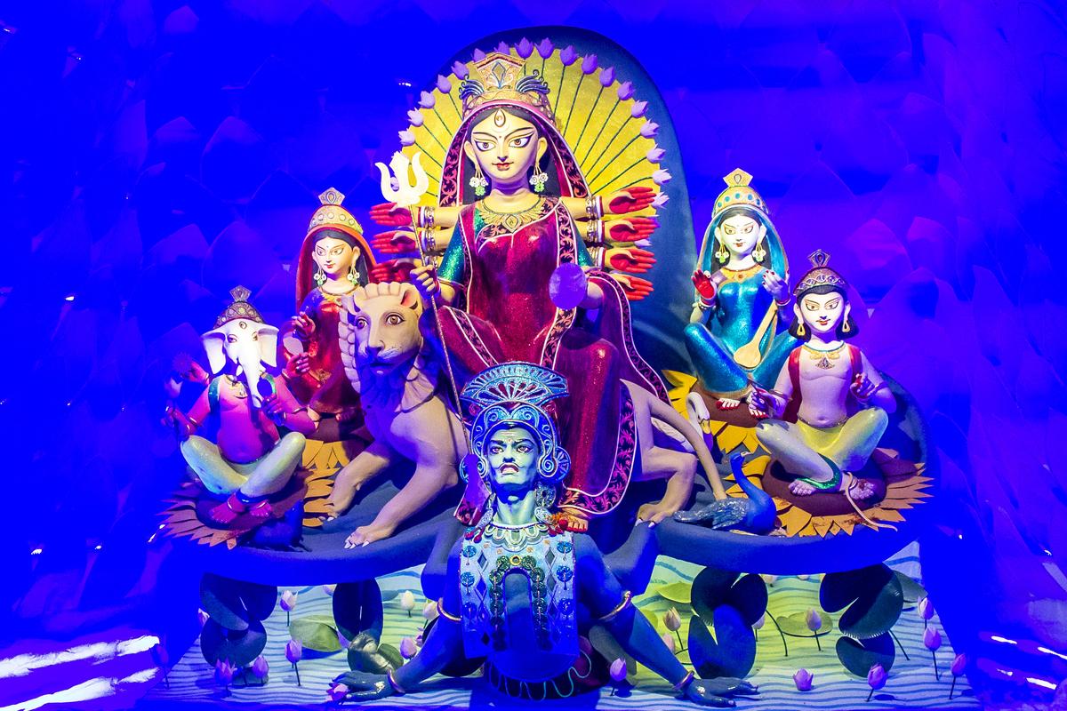 Narendra Modi, Mahalaya, Maa Durga, Bengal