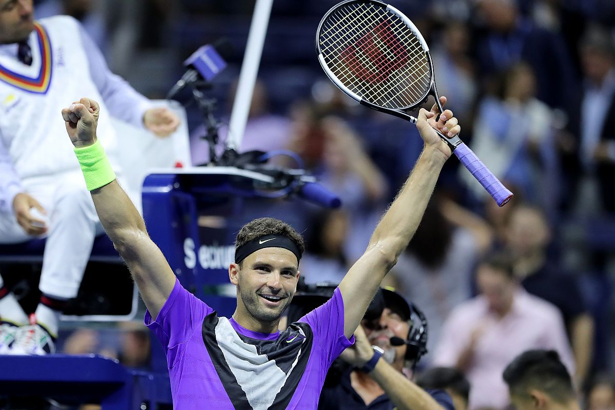 US Open: Roger Federer suffers shock quarter-final defeat to Grigor Dimitrov