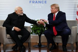 Trump says India-Pak tensions 'less heated' than 2 weeks ago