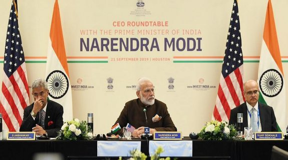 PM Modi kicks off US tour, meets CEOs from energy sector