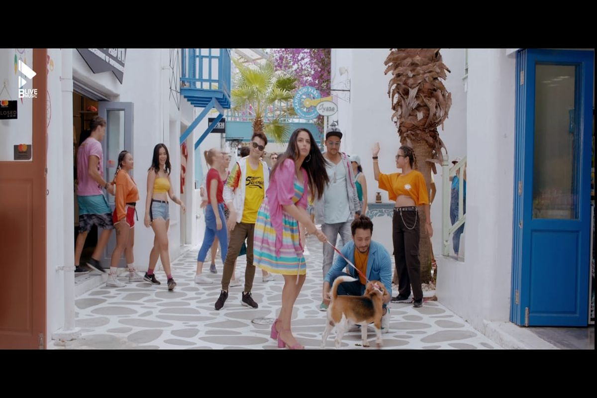 Punjabi track 'Doggy' featuring Avika, Ishaan is out now