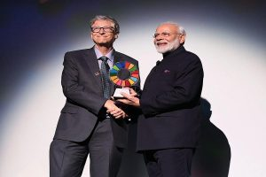 PM Modi receives Gates Foundation Goalkeepers award for Swachh Bharat campaign