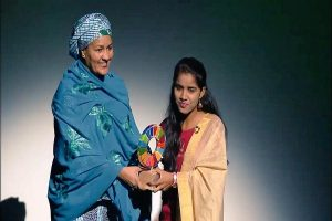 Indian teenager wins 'Changemaker' award from Gates Foundation