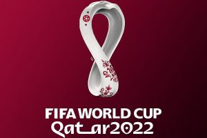 Official emblem of the FIFA World Cup 2022 launched in Qatar