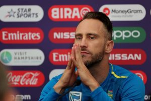 Van der Dussen to make Test debut, confirms Faf du Plessis
