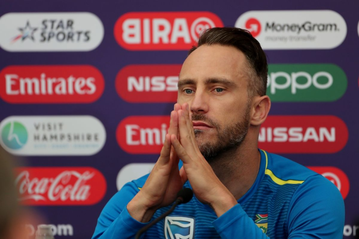 Flight delay frustrates Du Plessis ahead of India Test series
