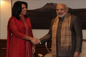 Tulsi Gabbard welcomes PM to US, apologises for not being able to attend 'Howdy, Modi' event