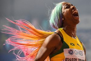 World Athletics Championships: Shelly-Ann Fraser-Pryce wins fourth 100m gold