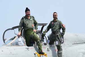 Wg Cdr Abhinandan Varthaman, who downed Pak F-16, flies MiG-21 with IAF chief