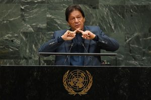 Imran Khan raises Kashmir issue, repeats his war rhetoric, warns of consequences at UNGA