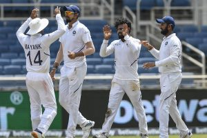 India thrash West Indies by 257 runs in 2nd Test, win series 2-0