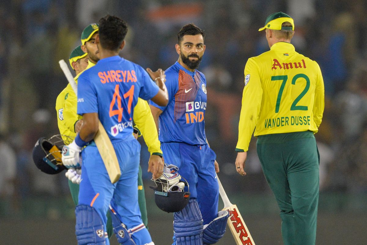 India beat South Africa by 7 wickets to go 1-0 up in T20I series