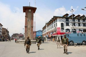 8 LeT terrorists arrested for publishing threat posters in Kashmir, incriminating materials seized