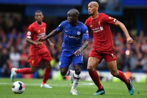 At the moment N'Golo Kante is playing catch-up: Frank Lampard