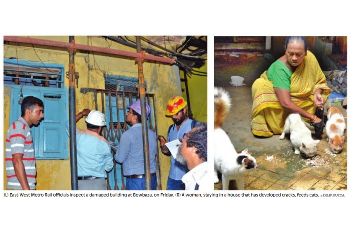 East West Metro corridor, Bowbazar, Kolkata Metro Railway Corporation Limited, Manas Sarkar,