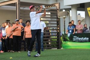 Kapil Dev wins 60-64 age category in Champions Golf Tournament
