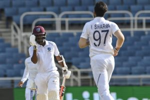 West Indies player Kraigg Brathwaite's bowling action under review
