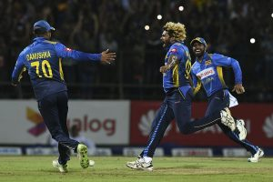 Lasith Malinga takes four wickets in four balls as Sri Lanka claim consolation win