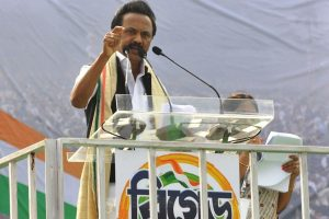 Hindi Diwas: MK Stalin takes a dig at Amit Shah, says 'This Is India, Not Hindia'