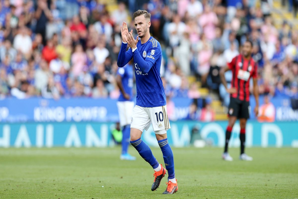 Manchester United, James Maddison, Leicester City, Harry Maguire, Premier League