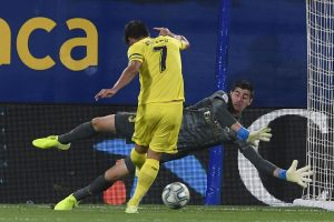 Real Madrid star Thibaut Courtois sets unwanted record